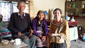 Pasang, Khando and Sarah